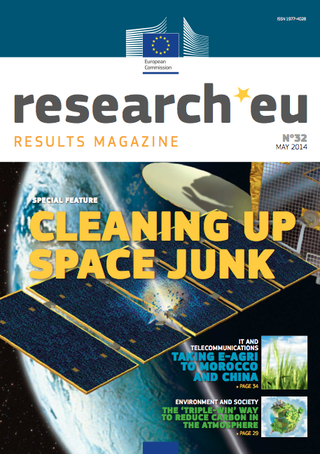 Research*EU cover of May 2014 issue
